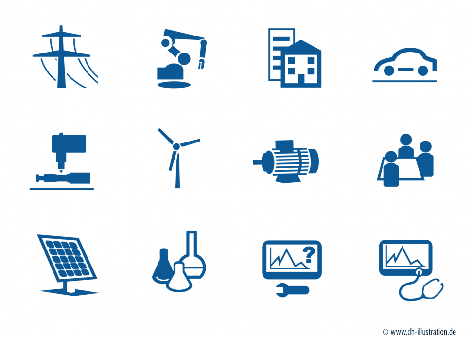 Icons Industrie