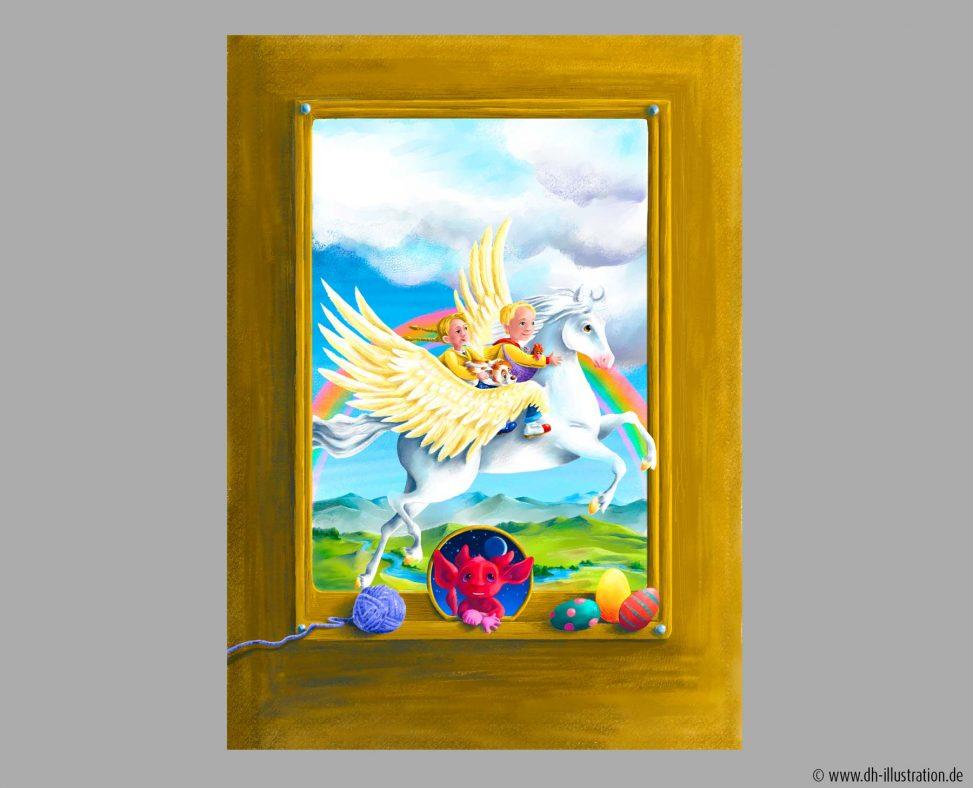 Kinder Fantasy Pegasus