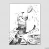 Fabletier isst Gurke