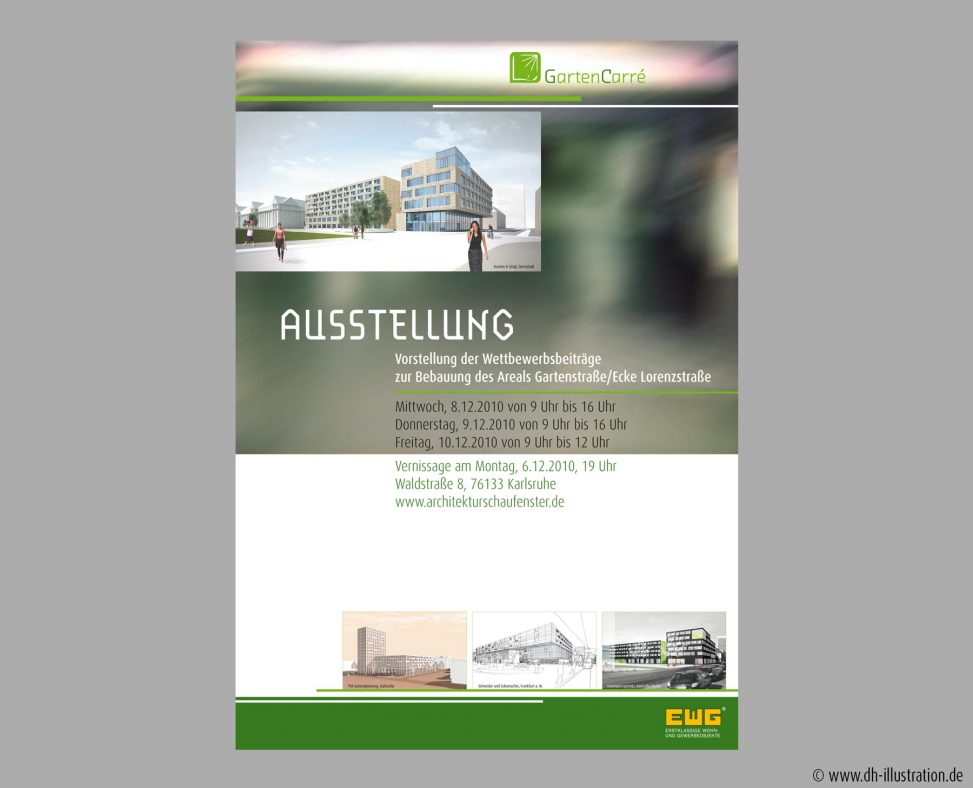 Architektur Plakat