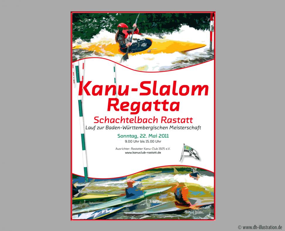Plakat Kanuregatta