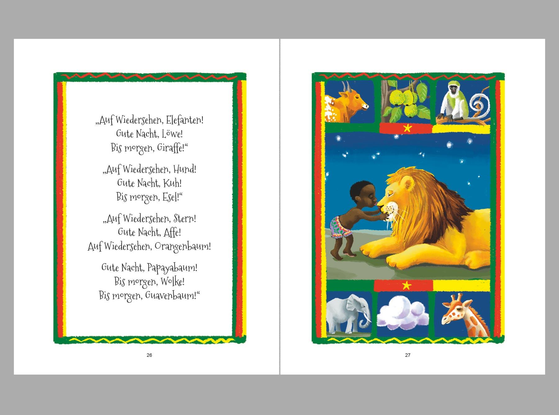Afrikanisches Gute Nacht Buch Daniela Henninger